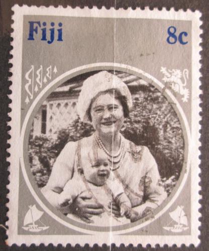Poštovní známka Fidži 1985 Královna Matka Mi# 525