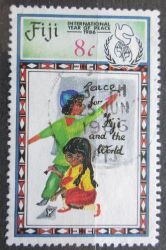 Poštovní známka Fidži 1986 Mezinárodní rok míru Mi# 543