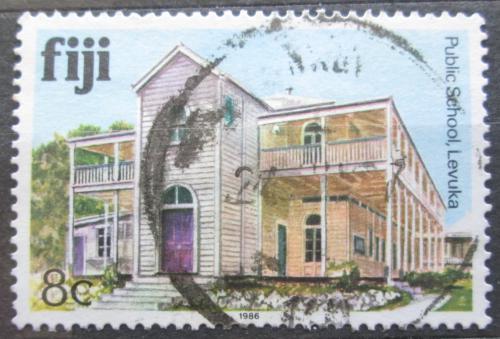 Poštovní známka Fidži 1986 Státní škola Levuka Mi# 558 Kat 3€