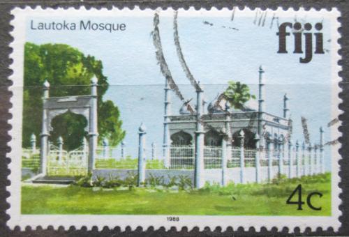 Poštovní známka Fidži 1988 Mešita Lautoka Mi# 578 I