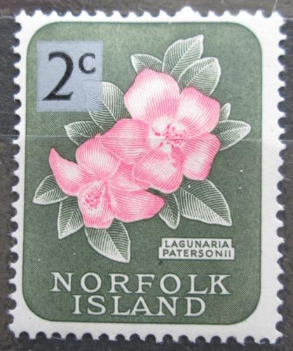 Poštovní známka Norfolk 1966 Lagunárie pøetisk Mi# 63