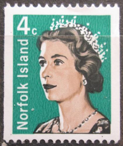 Poštovní známka Norfolk 1968 Královna Alžbìta II. Mi# 96