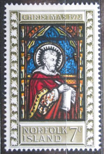 Poštovní známka Norfolk 1972 Vánoce Mi# 130