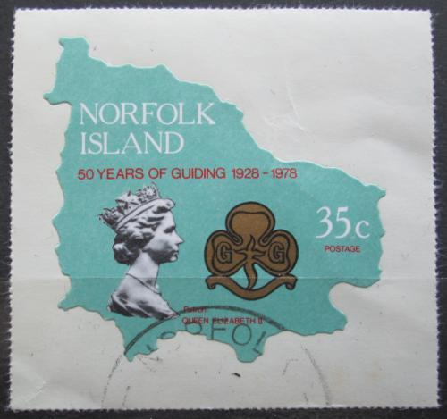 Poštovní známka Norfolk 1978 Skautské hnutí, 50. výroèí Mi# 210