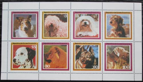 Poštovní známky Rovníková Guinea 1978 Psi Mi# 1427-34 Kat 8.50€