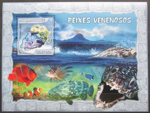 Poštovní známka Mosambik 2007 Ryby Mi# Block 217 Kat 10€