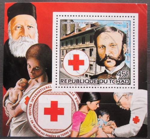 Poštovní známka Èad 1985 Henri Dunant Mi# 1101 A Block