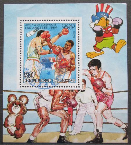 Poštovní známka Èad 1983 LOH Los Angeles, box Mi# 994 A Block