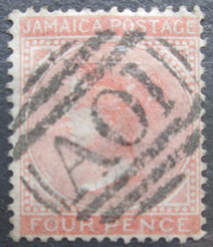 Poštovní známka Jamajka 1872 Královna Viktorie Mi# 11 Kat 8.50€