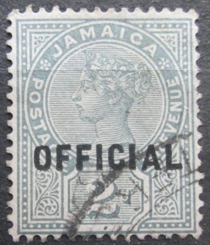 Poštovní známka Jamajka 1890 Královna Viktorie pøetisk, úøední Mi# 4