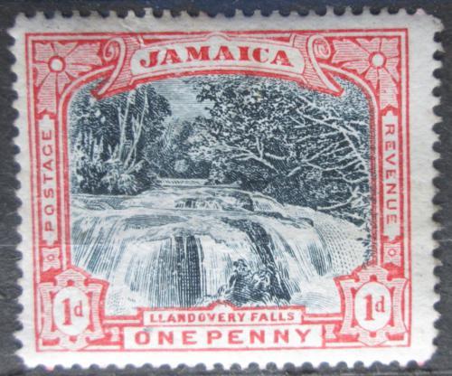 Poštovní známka Jamajka 1901 Vodopády Llandovery Mi# 32