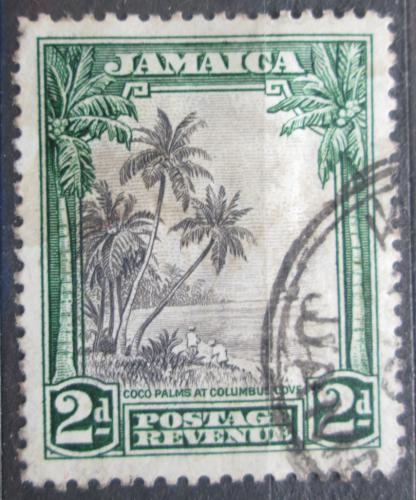 Poštovní známka Jamajka 1932 Kokosové palmy Mi# 108