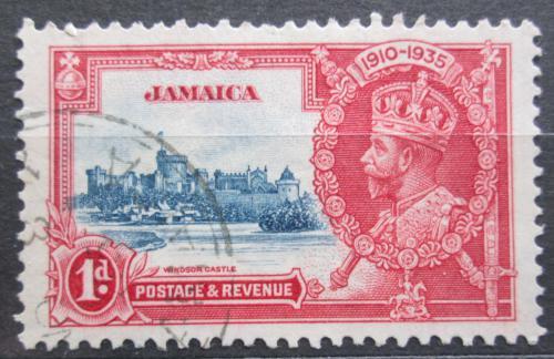 Poštovní známka Jamajka 1935 Hrad Windsor Mi# 111