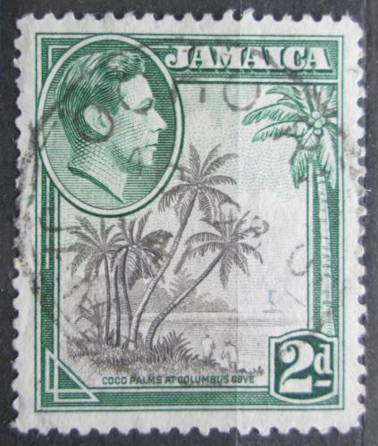 Poštovní známka Jamajka 1938 Kokosové palmy Mi# 123 A
