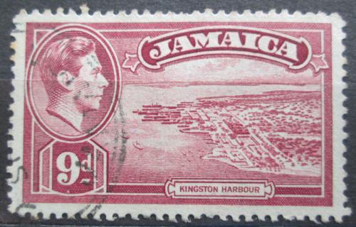 Poštovní známka Jamajka 1938 Pøístav Kingston Mi# 130