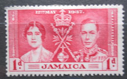 Poštovní známka Jamajka 1937 Královský pár Mi# 115