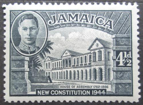 Poštovní známka Jamajka 1946 Vládní budova Mi# 139 D