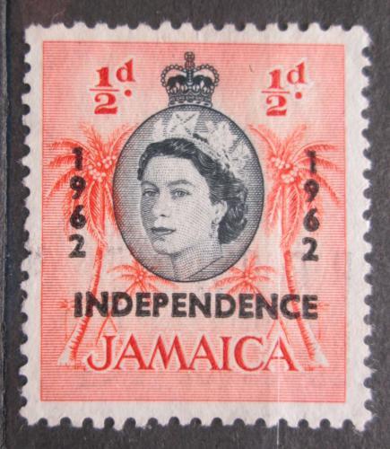 Poštovní známka Jamajka 1962 Palmy pøetisk Mi# 183