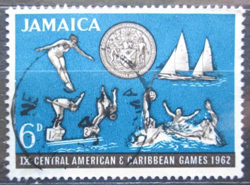 Poštovní známka Jamajka 1962 Karibské hry Mi# 200