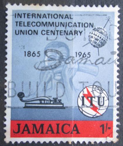 Poštovní známka Jamajka 1965 ITU, 100. výroèí Mi# 249
