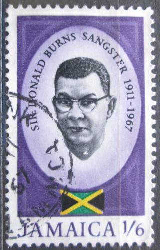 Poštovní známka Jamajka 1967 Premiér Donald Burns Sangster Mi# 264
