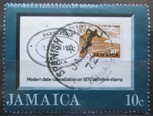 Poštovní známka Jamajka 1971 Poštovní služby, 300. výroèí Mi# 339