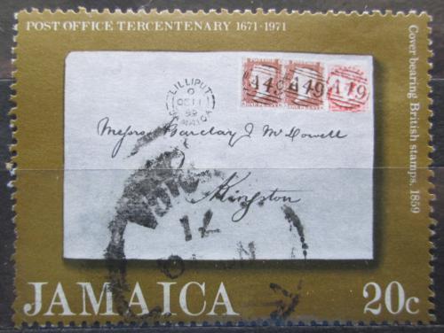 Poštovní známka Jamajka 1971 Poštovní služby, 300. výroèí Mi# 340