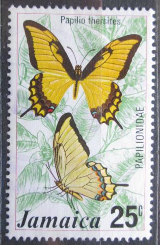 Poštovní známka Jamajka 1975 Motýl, Papilio thersites Mi# 400