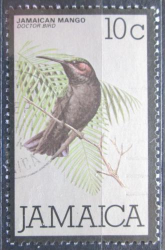 Poštovní známka Jamajka 1980 Kolibøík mangový Mi# 473