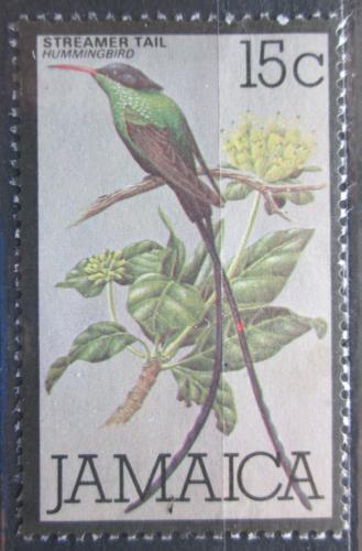 Poštovní známka Jamajka 1980 Kolibøík èervenozobý Mi# 475
