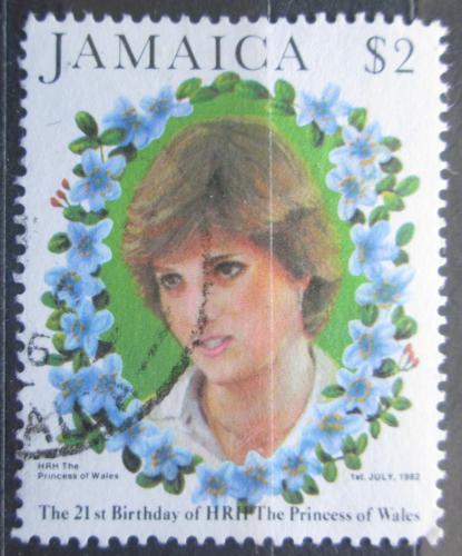 Poštovní známka Jamajka 1982 Princezna Diana Mi# 540