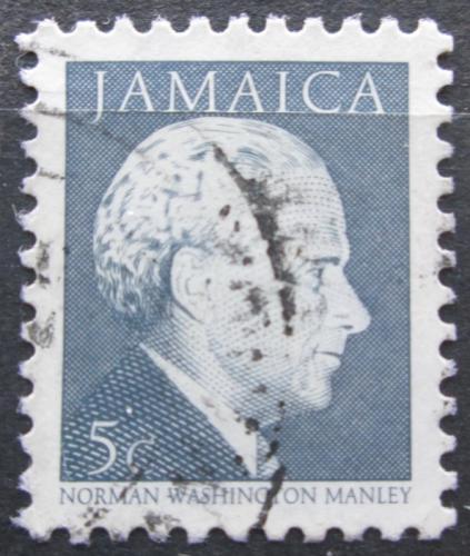 Poštovní známka Jamajka 1987 Norman Washington Manley, politik Mi# 657 I
