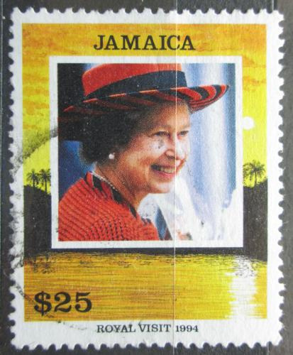 Poštovní známka Jamajka 1994 Královna Alžbìta II. Mi# 824