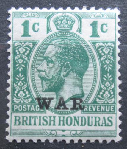 Poštovní známka Britský Honduras 1917 Král Jiøí V. pøetisk Mi# 80 b