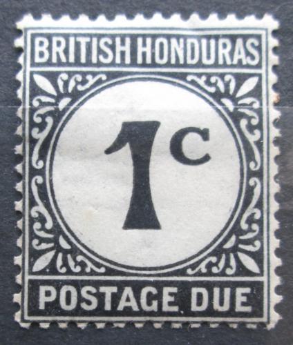 Poštovní známka Britský Honduras 1923 Doplatní Mi# 1 x