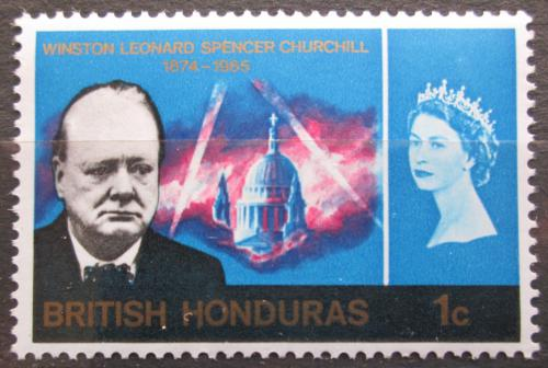 Poštovní známka Britský Honduras 1966 Winston Churchill Mi# 188