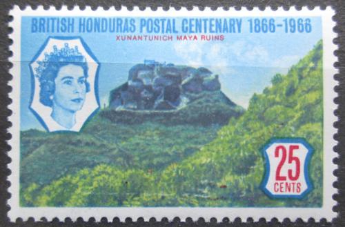 Poštovní známka Britský Honduras 1966 Máyské ruiny Mi# 200