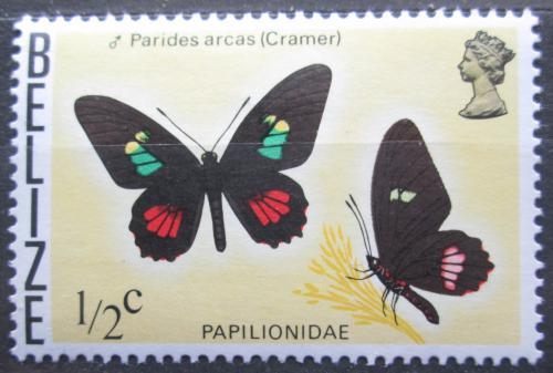 Poštovní známka Belize 1974 Motýl, Parides lyamenes Mi# 330 X