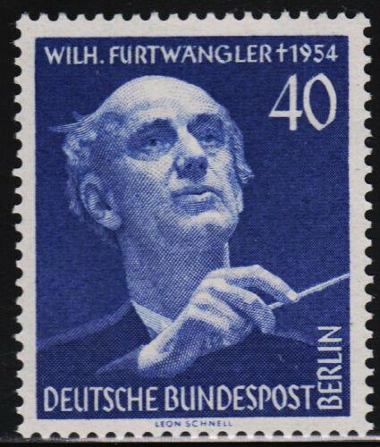 Poštovní známka Západní Berlín 1955 Wilhelm Furtwängler, dirigent Mi# 128 Kat 25€