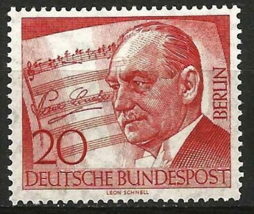 Poštovní známka Západní Berlín 1956 Paul Lincke, skladatel Mi# 156 Kat 3€