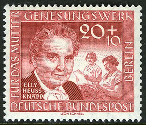 Poštovní známka Západní Berlín 1957 Elly Heuss-Knapp Mi# 178