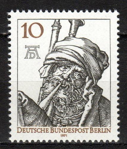 Poštovní známka Západní Berlín 1971 Umìní, Albrecht Dürer Mi# 390