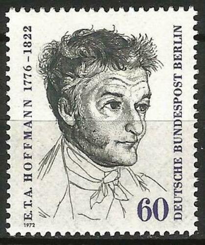 Poštovní známka Západní Berlín 1972 Ernst Hoffmann Mi# 426
