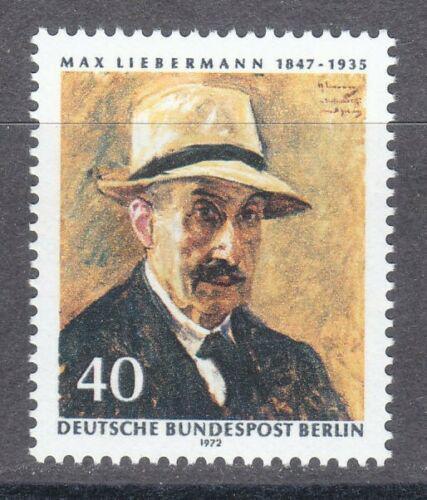 Poštovní známka Západní Berlín 1972 Max Liebermann, malíø Mi# 434