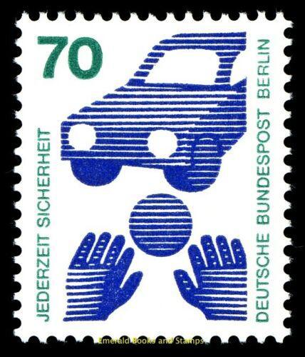 Poštovní známka Západní Berlín 1973 Prevence pøed nehodami Mi# 453