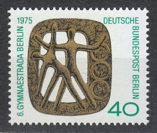 Poštovní známka Západní Berlín 1975 Gymnastráda Mi# 493