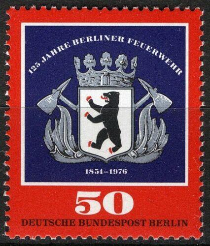 Poštovní známka Západní Berlín 1976 Znak berlínských hasièù Mi# 523