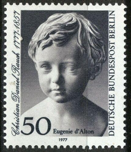 Poštovní známka Západní Berlín 1977 Socha, Christian Daniel Rauch Mi# 541
