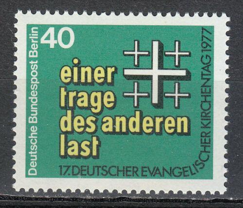 Poštovní známka Západní Berlín 1977 Den nìmeckých evangelíkù Mi# 548