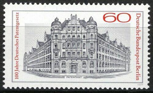 Poštovní známka Západní Berlín 1977 Patentní úøad Mi# 550